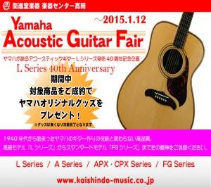 ヤマハアコースティックギターフェア